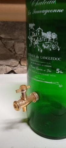 Grande bouteille 5 L distributeur de boisson ( ref N3b)