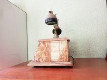 Téléphone vintage en marbre et cuivre ( ref K7)