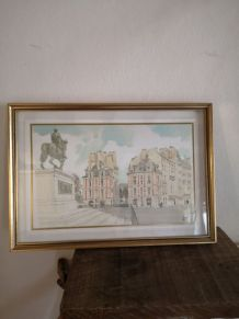 2 lithographies signé Pierre PAGES