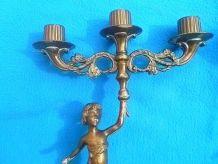 chandeliers  chérubins  ,  vintage