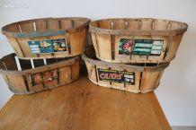 Caisses, cagettes années 50