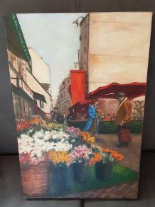 Peinture de la rue Mouffetard