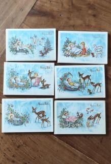 50 cartes vintage nativité Noël Jésus