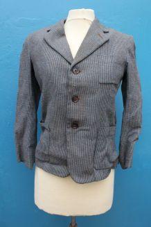 ancienne ancienne veste grise laine année 40-50