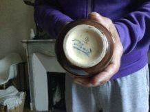 4 pots couverts en faïence cigale st jean du desert sicard