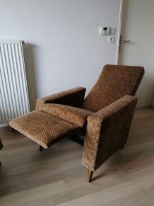 Vends fauteuil relax vintage