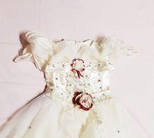 Robe de princesse mariage baptême 6 ans (V)