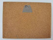 Tableau en liège vintage 25x18.