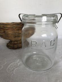 Bocal avec étrier RAC - 1 litre