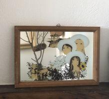 Cadre miroir Appel Saggers & Co 78 s