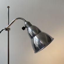 ANCIENNE LAMPE DE BUREAU MONTE ET BAISSE VIN OPALINE VINTAGE