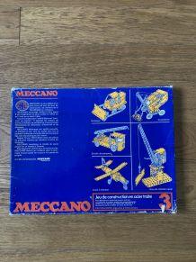 Meccano vintage boîte 3
