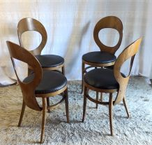 Chaises « Mouette » par Baumann – années 70/80