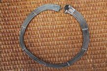 ancien collier argente style celtique année 40-50