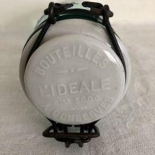 Bocal / Bouteille  L'IDEALE - Bouchon porcelaine - 1/2 litre