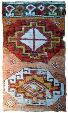 Tapis ancien Turc Konya fait main, 1B588