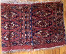 Tapis ancien Turkmène Tekke fait main, 1B602
