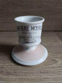 Ancien Pyrogène publicitaire en porcelaine