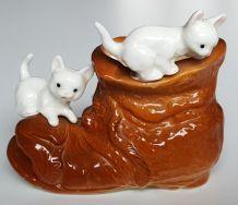 Petit vase vintage porcelaine fine vintage