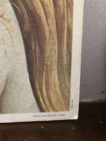 Cadre bois venus vintage