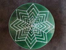 Grand plat en céramique Vallauris