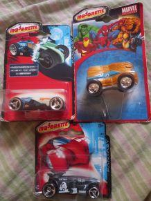Lot de 3 voitures Miniatures : Majorette