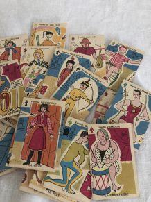 Jeu de 7 familles, cartes à jouer