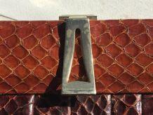 Pochette Vintage en serpent année 50/60