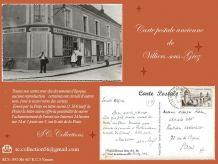 1956 - Carte postale - VILLIERS sous GREZ (77)