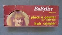 Pince à gaufrer les cheveux Babyliss vintage