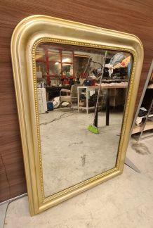 grand miroir louis philippe 108x80  traces de d usures  du t