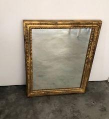 Miroir bois doré 50x40