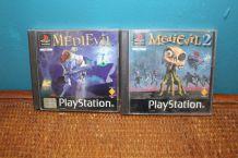 lot jeux medievil 1&2 PlayStation 1