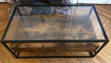 URGENT Vente Table basse de style industriel