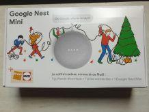 URGENT vente Google Nest Mini FNAC, guirlande de noël inclus