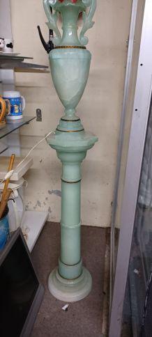Lampe .sur colonne
