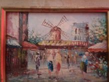 huile moulin rouge 1900/1920