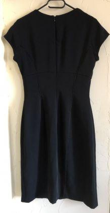 Robe fourreau noir Feraud