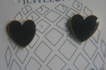 Lot de 3 paires de boucles d'oreilles en forme de coeur