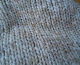 Bonnet beige en laine - Cheyenne
