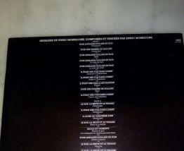 """33 T """"MUSIC BY ENNIO MORRICONE"""""""