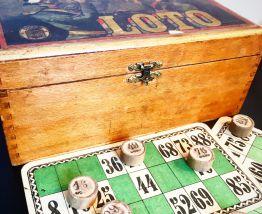 Ancien jeu de Loto début XXème siècle