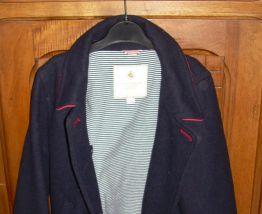 Manteau Style Officier de Marine Petit Bateau 4 ans Neuf Sans Etiquette