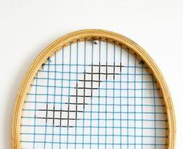 Raquette de tennis vintage Snauwaert