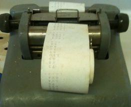 Machine à calculer ODHNER X9S-6 -  années 60