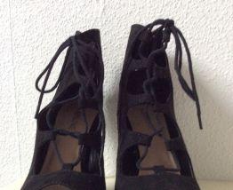 Escarpins à lacet outfitbook noires