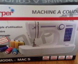 Machine à coudre neuve