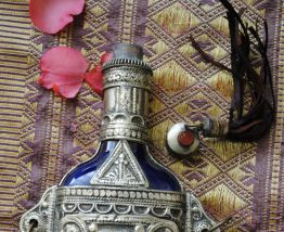 flacon berbère ethnique bohème