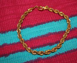 bracelet rond effet dore vintage