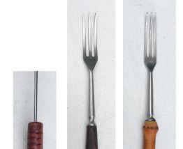 Lot de fourchettes à fondue et piques brochettes